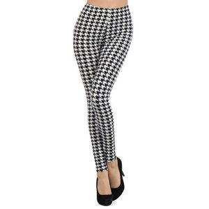 🆕Houndstooth Buttery Soft Brushed Fashion Legging